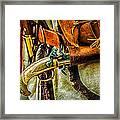 Hand Gun Framed Print by Louis Dallara