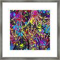 Hands Of Colour Framed Print by Tim Gainey