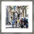 Havana Street Vii Framed Print by Jim Nelson