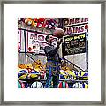 Hoop Shots Framed Print by Rory Sagner