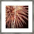 Independence Day Sparklers 2 Framed Print by Deborah Smolinske