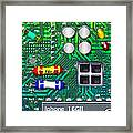 Iphone I-art Square Framed Print by Wingsdomain Art and Photography