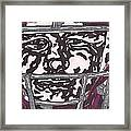 Johnny Manziel 16 Framed Print by Jeremiah Colley