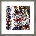 Joker - Profile Framed Print by Rachel Scott