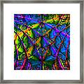 Journey 20130511v1 Square Framed Print by Wingsdomain Art and Photography