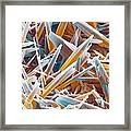 Kettle Limescale, Sem Framed Print by Power And Syred