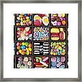 Kids Sweets Framed Print by Tim Gainey
