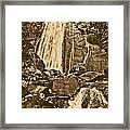 La Coca Falls El Yunque National Rainforest Puerto Rico Prints Rustic Framed Print by Shawn O'Brien
