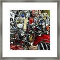 London 089 Framed Print by Lance Vaughn