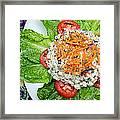 Macaroni Salad 1 Framed Print by Andee Design