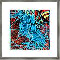 Maiden In Blue - Mary In The Temple Framed Print by Gloria Ssali