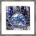 Merry Christmas Framed Print by Mo T
