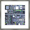 Motherboard Abstract 20130716 P38 Square Framed Print by Wingsdomain Art and Photography