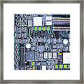 Motherboard Abstract 20130716 P38 Framed Print by Wingsdomain Art and Photography