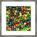 Mountain Of M And M's Framed Print by Anna Villarreal Garbis