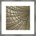Network Gold Framed Print by John Edwards