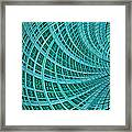 Network Framed Print by John Edwards