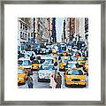 New York 1 Framed Print by Yury Malkov