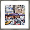 New York 4 Framed Print by Yury Malkov