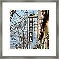 Northern Hotel Framed Print by Baywest Imaging
