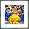 Ode To A Grecian Urn Framed Print by Diane Fine