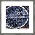 Old Steam Engine -train Wheels Framed Print by Liane Wright