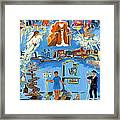 One Step Ahead Of The Undertaker In A Johnny Coat  Framed Print by Betty Pieper