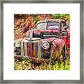 Painted Ford Framed Print by Robert Jensen