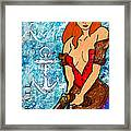 Pirate Mary Read Framed Print by William Depaula