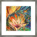 Polyptich Part I - Water Framed Print by Elena Kotliarker