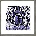 Porch Pickin Framed Print by Bartz Johnson