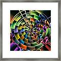 Portal 5 Framed Print by Wendy J St Christopher