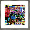 precious is man for he is created in the Divine Image 10 Framed Print by David Baruch Wolk