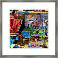 precious is man for he is created in the Divine Image 13 Framed Print by David Baruch Wolk