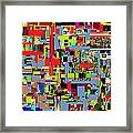 precious is man for he is created in the Divine Image 4 Framed Print by David Baruch Wolk