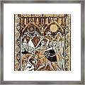 Psalter Of Saint Louis 13th C.. Abraham Framed Print by Everett