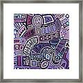 Radio Active Framed Print by Barbara St Jean