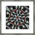 Red Sox Heroes Collide-a-scope Framed Print by Sue  Thomson