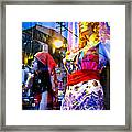 Reflections In The Life Of A Mannequin Framed Print by Colleen Kammerer
