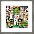 Republicans Net Frankenstein Monster Framed Print by Dan Youra