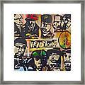 Revolutionary Hip Hop Framed Print by Tony B Conscious
