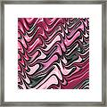 Shades Of Pink And Red Decorative Design Framed Print by Matthias Hauser