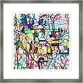 Silence Is Worth Double Framed Print by David Baruch Wolk
