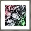 Snowfall - Snowflakes - Christmas Version Framed Print by Steve Ohlsen