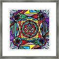 Sri Yantra Framed Print by Teal Eye  Print Store