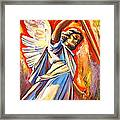 St. Michael Framed Print by Sheila Diemert