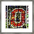 Stained Glass At The Horseshoe Framed Print by David Bearden