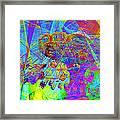 Summertime At Santa Cruz Beach Boardwalk 5d23905 Framed Print by Wingsdomain Art and Photography