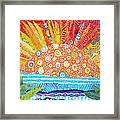 Sun Glory Framed Print by Susan Rienzo