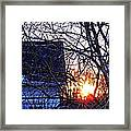 Sunrise Next Door Framed Print by Sarah Loft